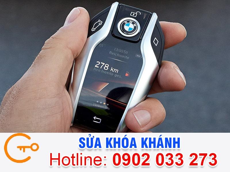Sửa khóa ô tô Quận Tân Phú